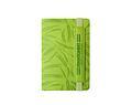 Ежедневник в гибкой обложке с вертикальным эластичным держателем и шильдом