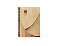 Ежедневник в деревянной обложке с сшитым блоком