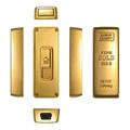 USB-зажигалка в виде слитка золота