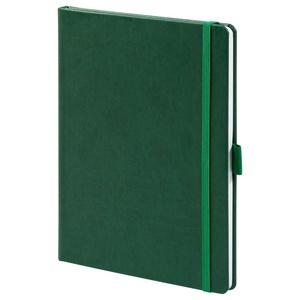 Еженедельник Luck, недатированный, зеленый