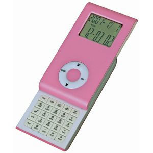 Калькулятор раздвижной с календарем и часами