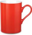 Фарфоровая кружка prime colour, красная
