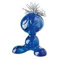 Держатель для скрепок curly, синий