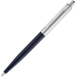 Ручка шариковая Senator Point Metal, темно-синяя