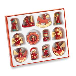 Новогодний набор из 12 игрушек