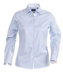 Рубашка женская в полоску RENO LADIES, голубая