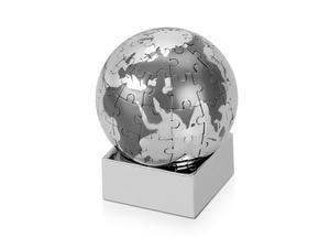 Головоломка Земной шар, серебристый/серый