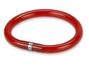 Ручка шариковая-браслет Арт-Хаус, красный