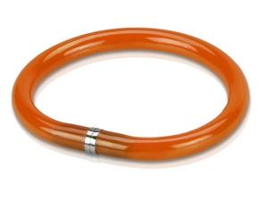 Ручка шариковая-браслет Арт-Хаус, оранжевый