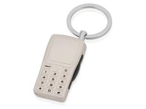 Брелок с отделением для хранения SIM-карт, серебристый