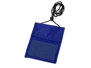Нагрудное дорожное портмоне со шнурком
