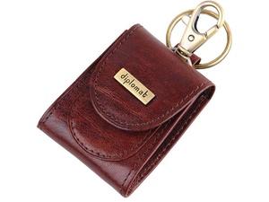 Брелок-монетница Diplomat, коричневый