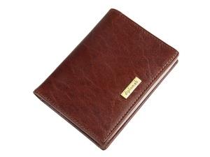 Футляр для кредитных и дисконтных карт Diplomat (Дип, коричневый