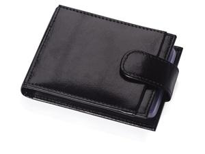 Футляр для 40 визиток, кредитных или дисконтных карт, черный