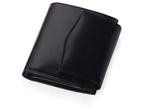 Портмоне с отделениями для кредитных карт и монет, черный