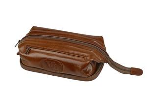 Несессер кожаный William Lloyd, коричневый