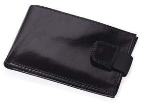 Визитница с отделениями для кредитных карт, черный