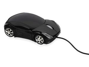 Мышь оптическая Спорткар, черный