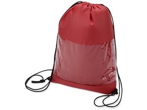 Плед в рюкзаке Кемпинг, красный