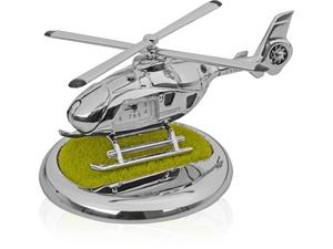 Часы Вертолет, серебристый