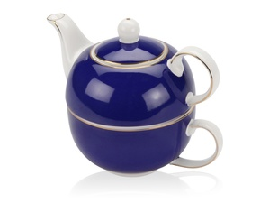 Набор Эгоист: чайник на 200 мл, чашка на 220 мл в подарочной упаковке