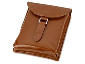Набор аксессуаров для чистки обуви Кэрролтон, коричневый/натуральный