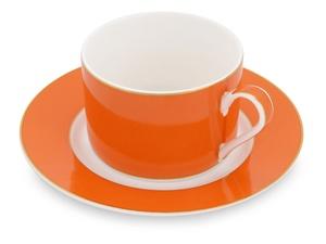 Чайная пара: чашка на 200 мл с блюдцем