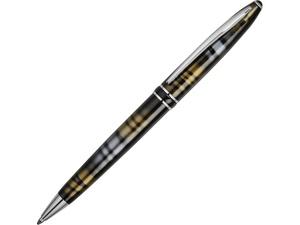 Ручка шариковая Ungaro модель Ornato в футляре, черный/пятнистый