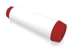 Держатель для кабеля Тwisti, красный/белый
