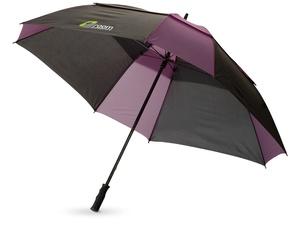 Зонт трость Helen, механический 30, черный/темно-лиловый