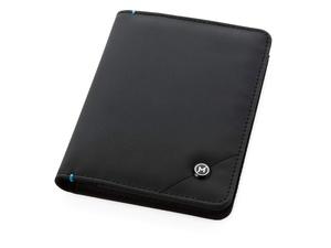 Обложка для паспорта Odyssey, черный/синий