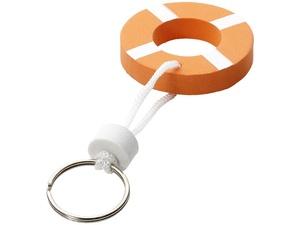 Брелок нетонущий в форме спасательного круга, оранжевый