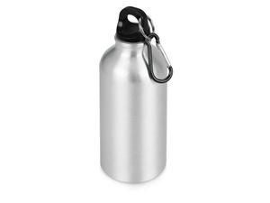 Бутылка Oregon с карабином 400мл, серебристый