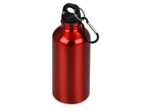 Бутылка Oregon с карабином 400мл, красный