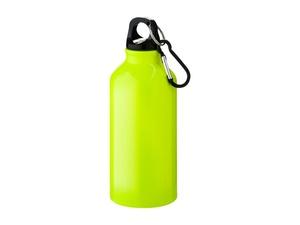 Бутылка Oregon с карабином 400мл, неоновый желтый