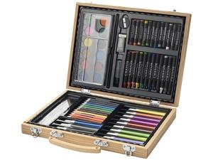 Набор для рисования из 67 предметов в чемодане