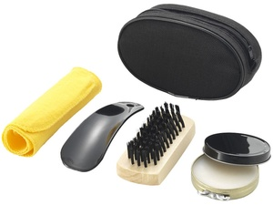 Набор для чистки обуви Hammond, черный