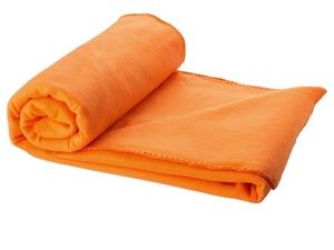 Плед Huggy в чехле, оранжевый
