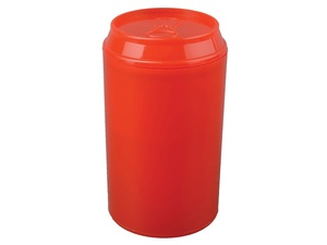 Набор Plastglass: 4 стакана с открывалкой, красный