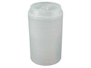 Набор Plastglass: 4 стакана с открывалкой, белый