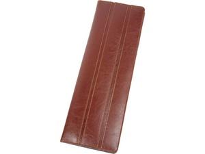 Чехол для галстуков Alessandro Venanzi, коричневый