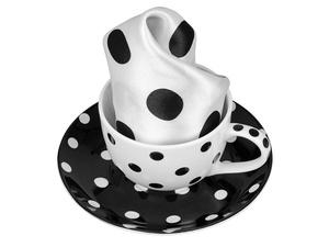 Набор: чашка и платок Утро дамы