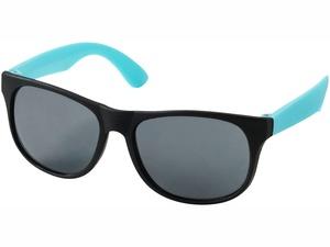 Очки солнцезащитные Retro, черный/морская волна