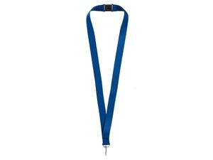 Ремешок на шею с карабином Бибионе, темно-синий