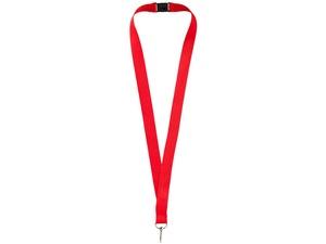 Ремешок на шею с карабином Бибионе, красный