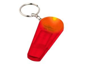 Брелок Spica, красный прозрачный