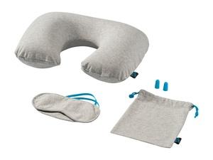 Набор для путешествия Miami  (Jersey): подушка, повязка для глаз, беруши
