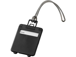 Бирка для багажа Taggy, черный