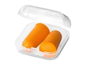 Беруши Serenity в футляре, оранжевый