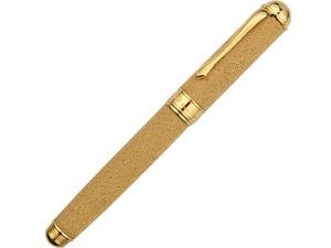 Ручка перьевая Cesare Emiliano серебро, бронза в футляре, золотистый